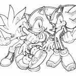 Online Sonic Coloring Pages   357848