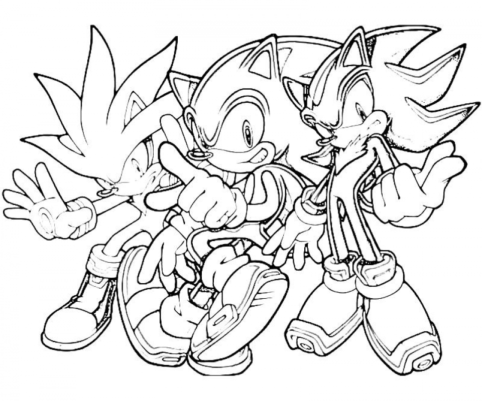 Get This Online Sonic Coloring Pages 357848
