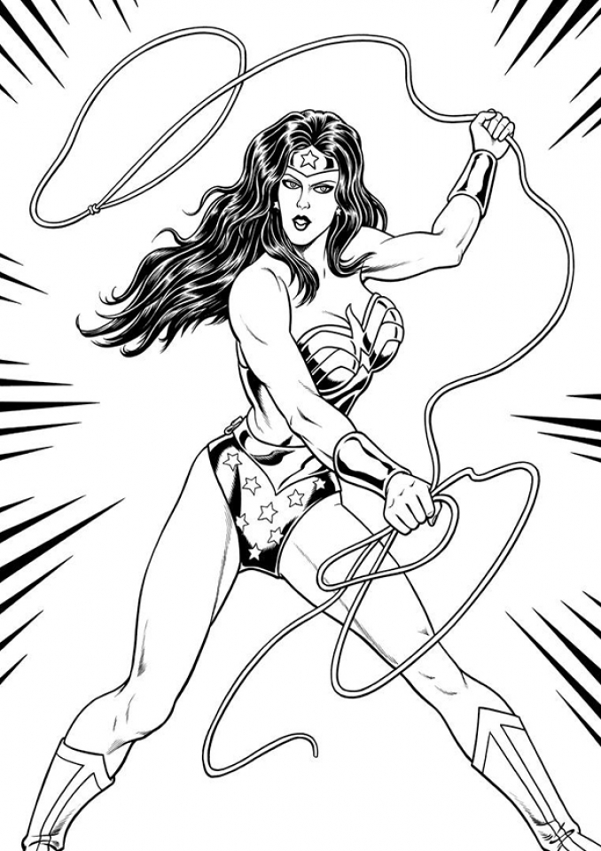 online wonder woman coloring pages jzj9z