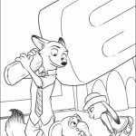 Online Zootopia Coloring Pages   569689