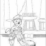 Online Zootopia Coloring Pages   703928