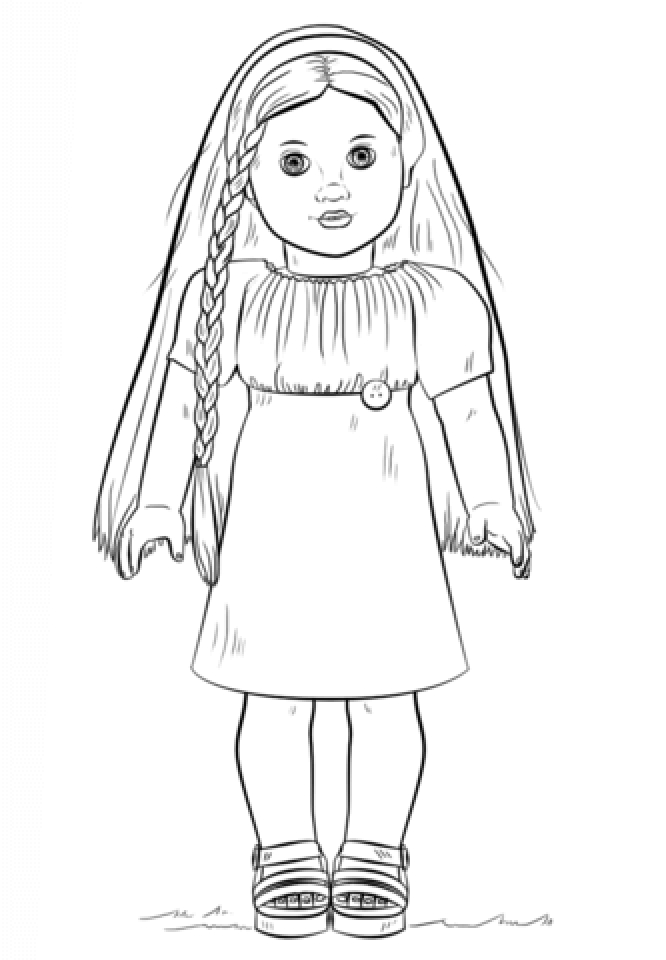 free printable american girl coloring pages | Get This Printable American Girl Coloring Pages p79hb