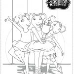 Printable Angelina Ballerina Coloring Pages Online   106081