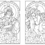 Printable Art Deco Patterns Coloring Pages for Adults   sd689