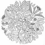 Printable Autumn Coloring Pages for Adults   55cv67