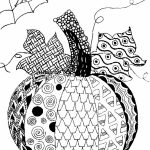 Printable Autumn Coloring Pages for Adults   7129bh