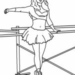 Printable Ballerina Coloring Pages Online   4auxs
