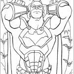Printable Batman Coloring Pages Online   781024