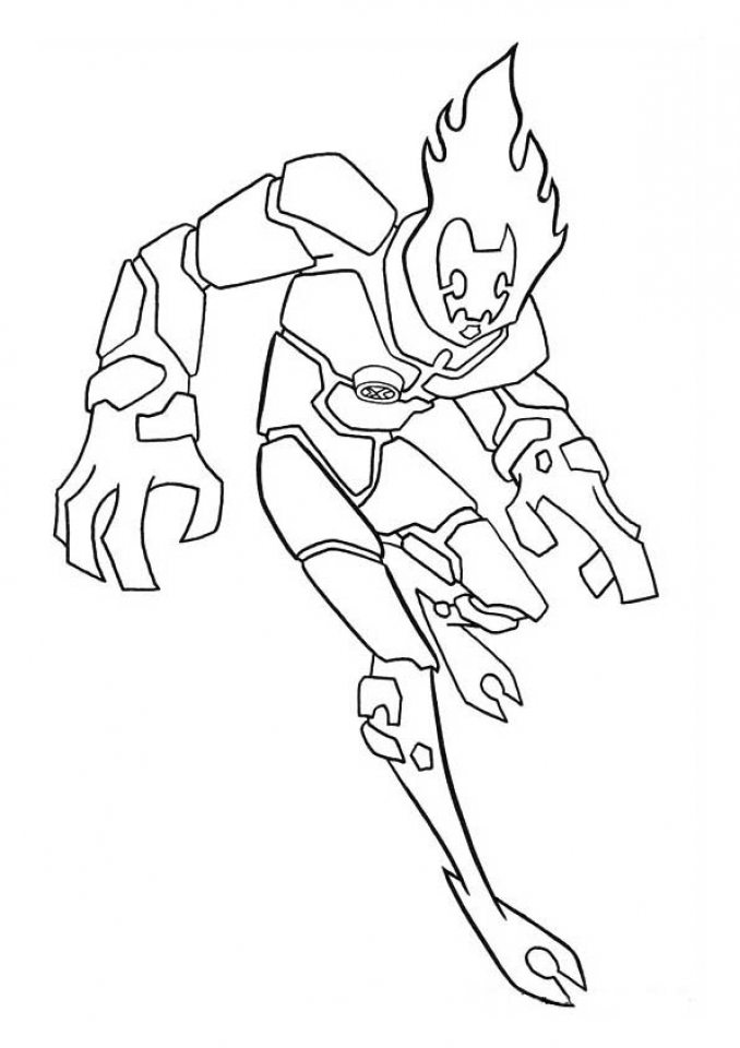 Printable Ben 10 Coloring Pages   p79hb
