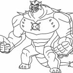 Printable Ben 10 Coloring Pages   yzost