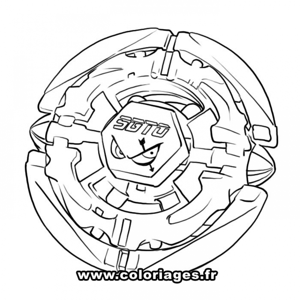 Get This Printable Beyblade Coloring Pages 58425