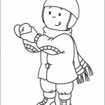 Printable Caillou Coloring Pages Online   mnbb29