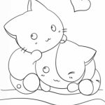 Printable Cute Coloring Pages Online   17696