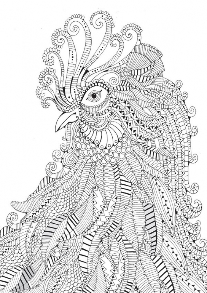 20+ Free Printable Difficult Animals Coloring Pages for ...