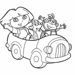 Printable Dora The Explorer Coloring Pages   yzost