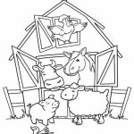 Printable Farm Coloring Pages   EK1HU