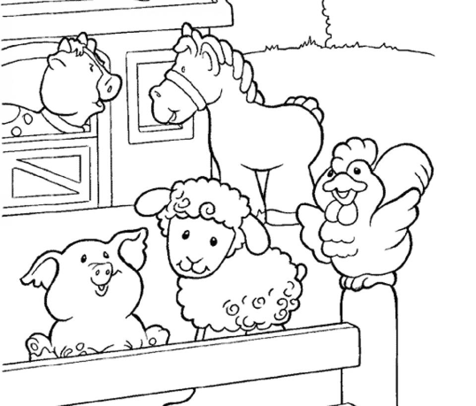 Printable Farm Coloring Pages Online   Q4CFJ