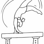 Printable Gymnastics Coloring Pages Online   vu6h13
