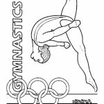 Printable Gymnastics Coloring Pages   p79hb