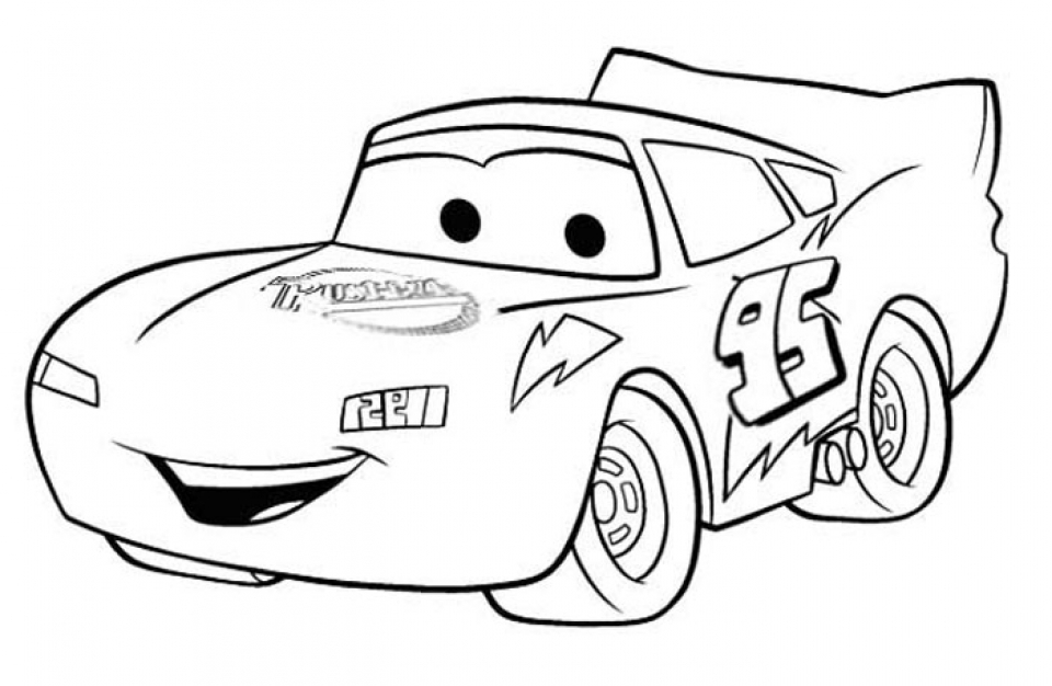 Get This Printable Lightning McQueen