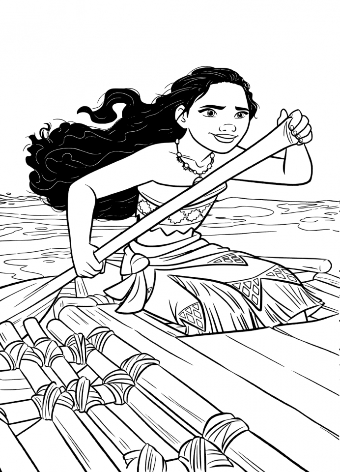 Get This Printable Moana Coloring Pages Online BL96T