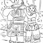 Printable Moana Coloring Pages Online   YD99N