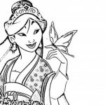 Printable Mulan Coloring Pages   dqfk11
