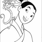 Printable Mulan Coloring Pages Online   gvjp10