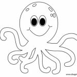 Printable Octopus Coloring Pages Online   vu6h28