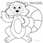 Printable Raccoon Coloring Pages Online   46714