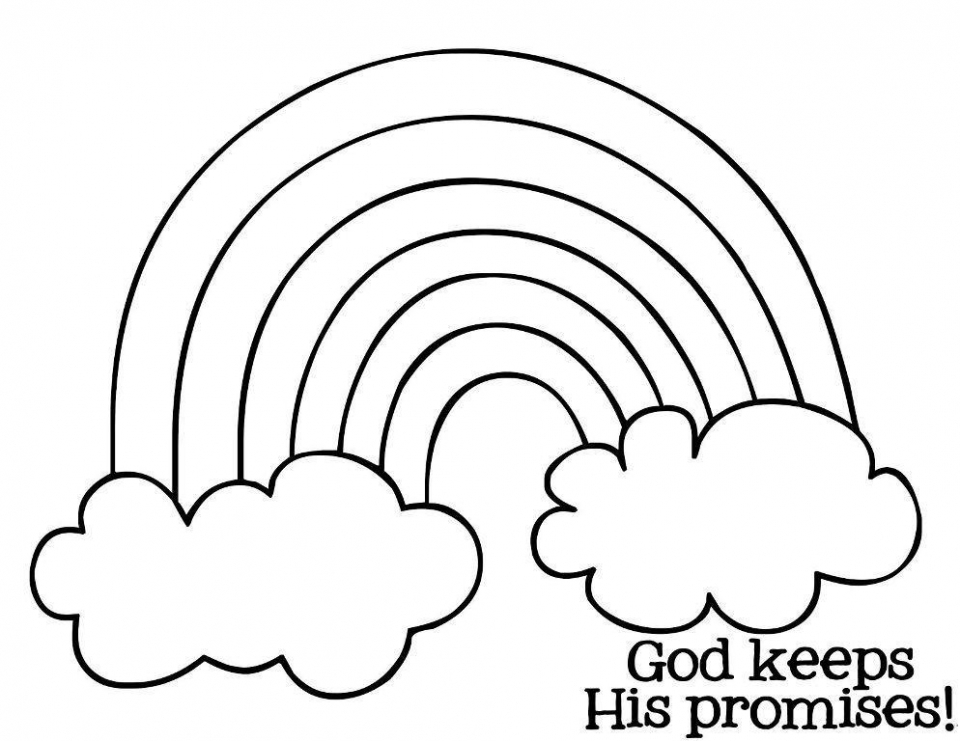 Printable Rainbow Coloring Pages Online   4auxs
