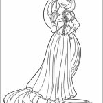 Printable Rapunzel Coloring Pages   M8GNK