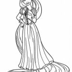 Printable Rapunzel Coloring Pages Online   FOH6R