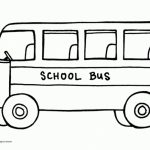 Printable School Bus Coloring Pages   7ao0b