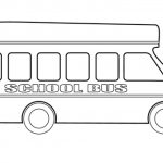 Printable School Bus Coloring Pages Online   2x536