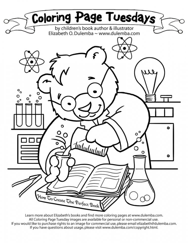 Get this printable science coloring pages dqfk29 for Science coloring pages to print
