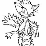 Printable Sonic Coloring Pages   673354