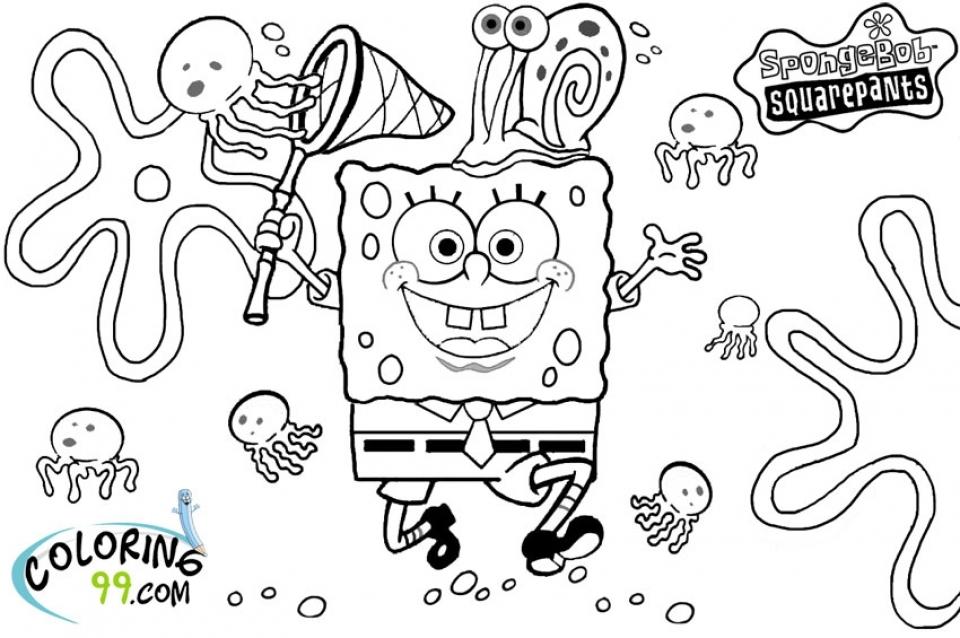 spongebob squarepants color pages - get this printable spongebob squarepants coloring pages