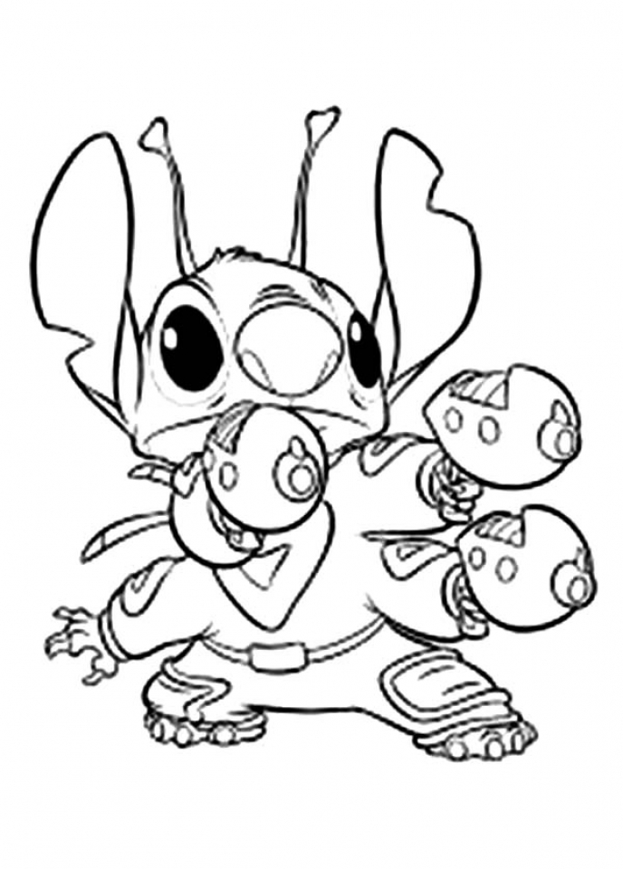 Get This Printable Stitch Coloring