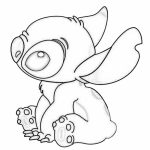 Printable Stitch Coloring Pages Online   vu6h30