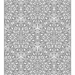 Printable Tessellation Coloring Pages Free   2BR0X