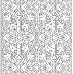 Printable Tessellation Coloring Pages Free   WS51N