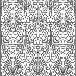 Printable Tessellation Coloring Pages Free   xu230