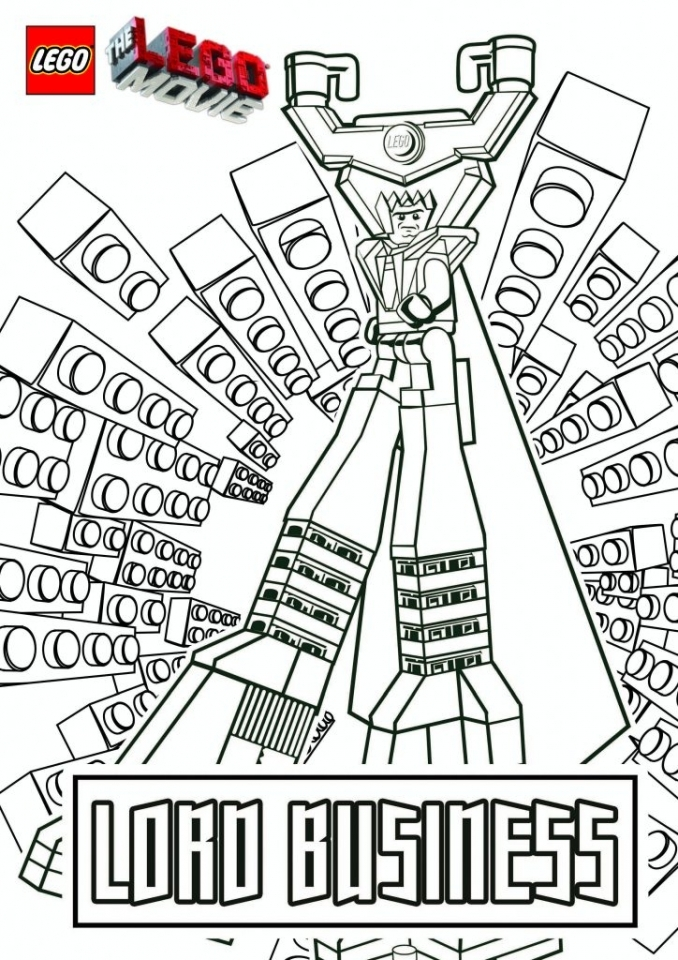Get This Printable The Lego Movie Coloring Pages Online 184773