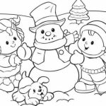Printable Winter Coloring Pages   171704