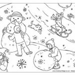 Printable Winter Coloring Pages   237387