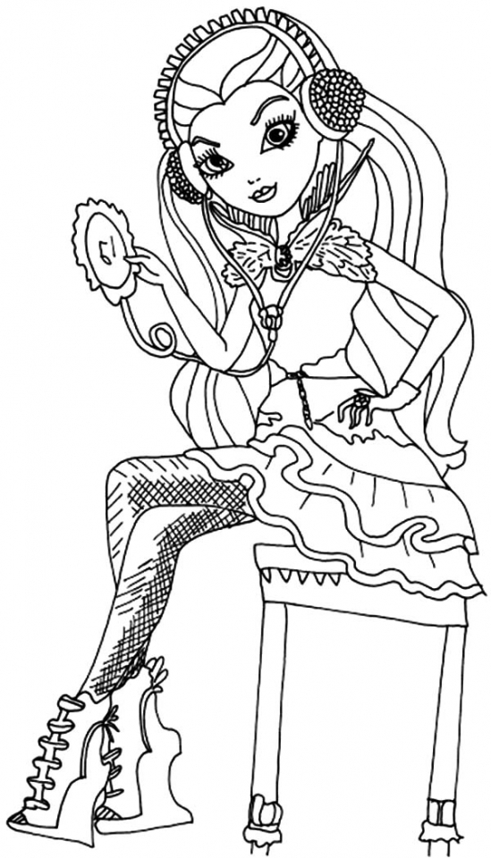 Get This Royal Rebels Ever After High Girl Coloring Pages ...