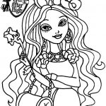 Royal Rebels Ever After High Girl Coloring Pages Printable   YGH17