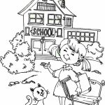 School Coloring Pages for Kids   97xd45