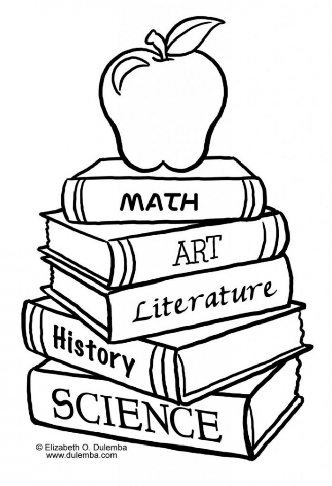 School Coloring Pages for Preschoolers   yb4h98